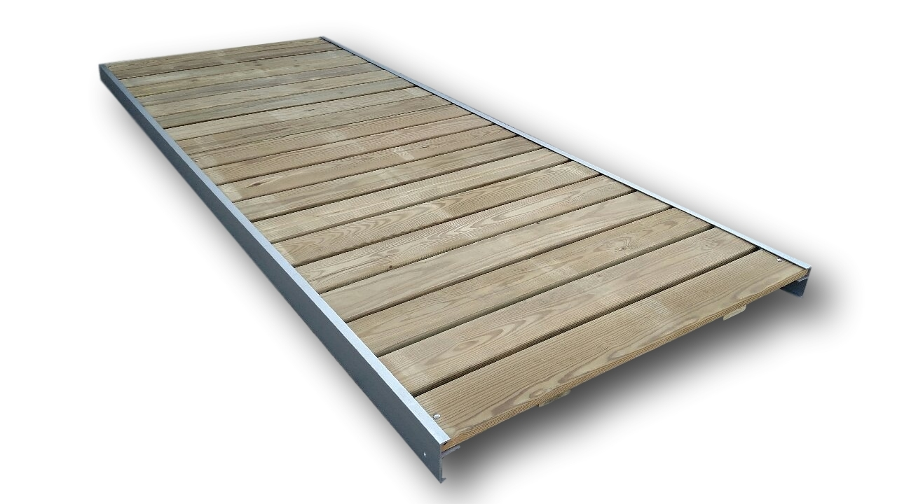 TREATED PINE DOCK SECTIONS