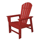 South Beach Dining Chair Sunset Red