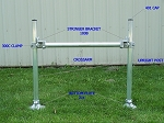 4' Wide Aluminum Standard Assembly