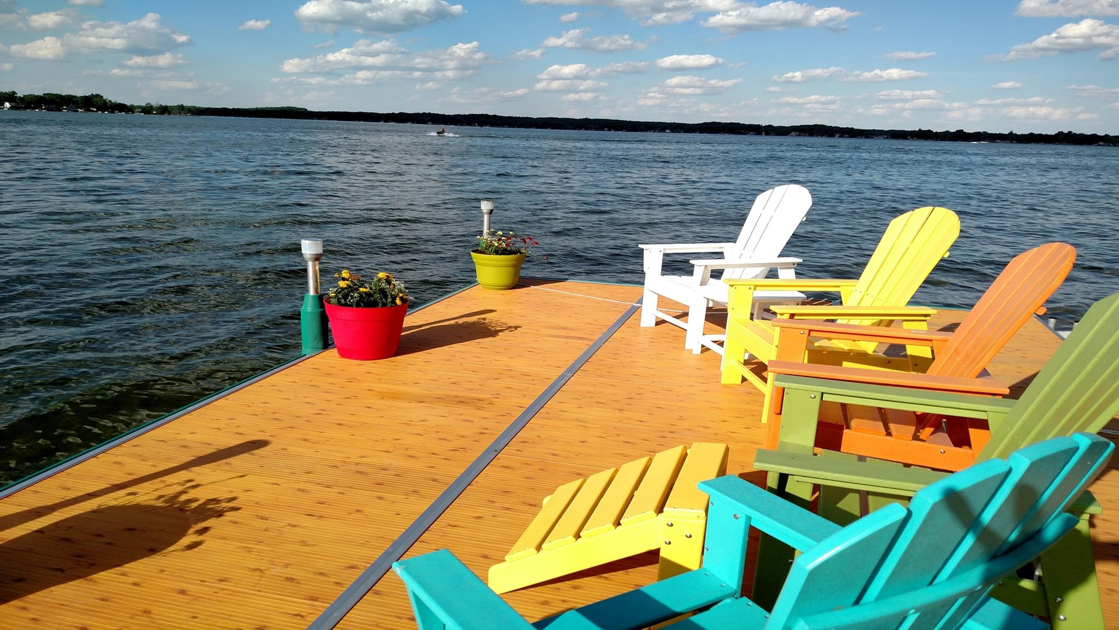 Aluminum Dock Sections Dock Accessories Dock Designs