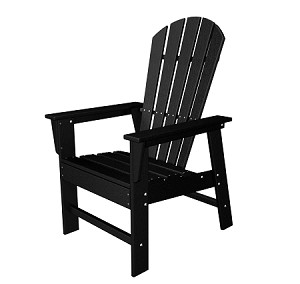 South Beach Dining Chair Black