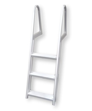 3-Step Anodized Aluminum Ladder