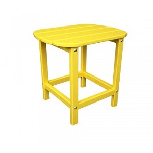"South Beach 18"" Side Table Lemon"