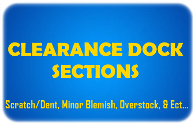 CLEARANCE DOCK SECTIONS