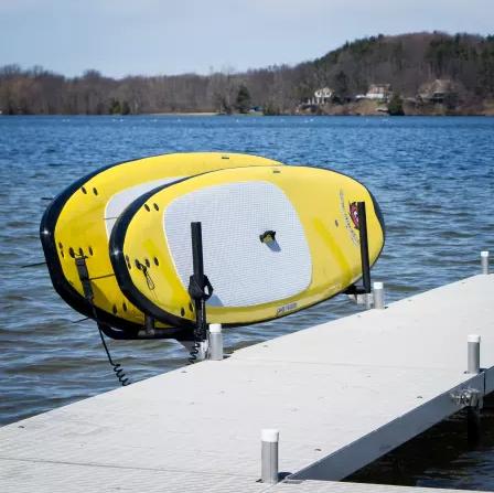 Paddle Board Rack >> Post Mount Paddle Board Rack