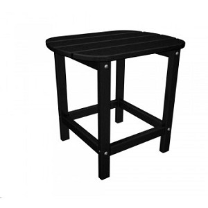 "South Beach 18"" Side Table Black"