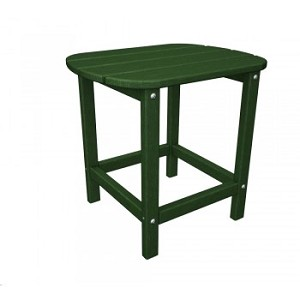 "South Beach 18"" Side Table Green"