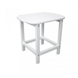 "South Beach 18"" Side Table White"