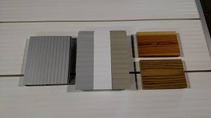 DECKING SURFACE SAMPLES